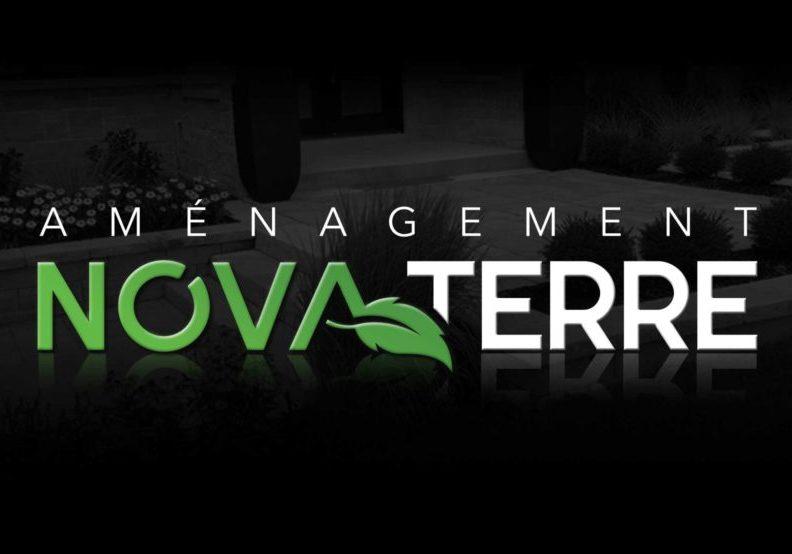 Conception graphique du logo d'Aménagement Nova-Terre